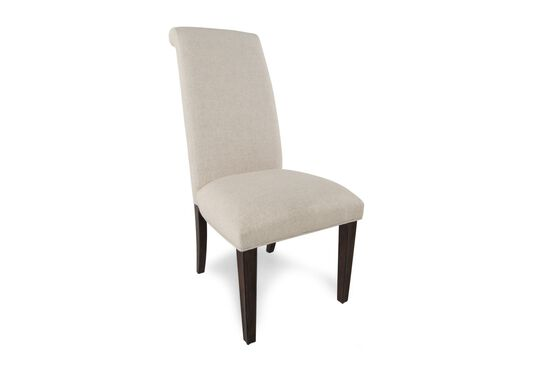 Two-Piece Tall Back 43'' Side Chair Set in Cream