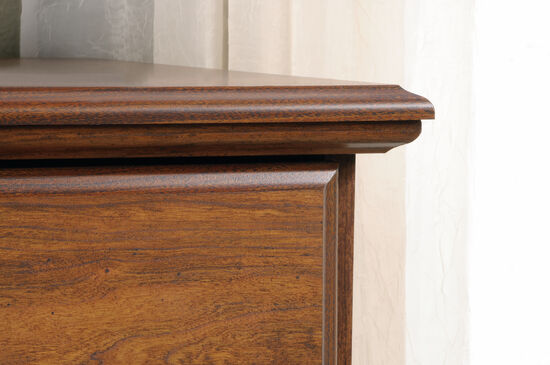 """40"""" Traditional 4-Drawer Chest in Milled Cherry"""