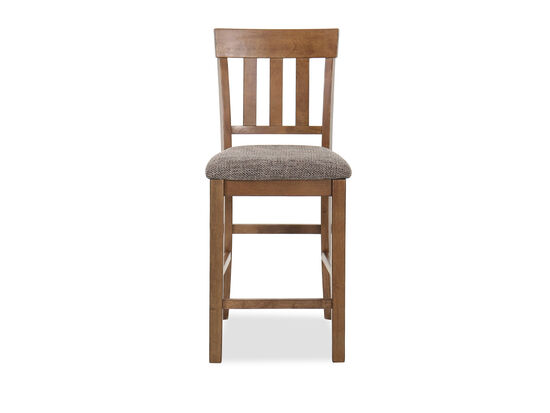 "Casual 41"" Bar Stool in Gray"