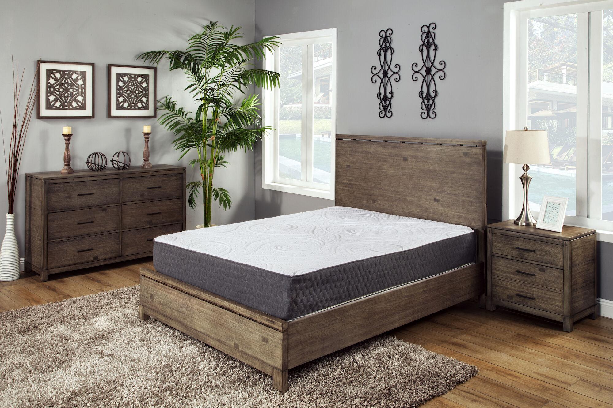 bronze ventilated gel soft mattress in a box mathis sleep center. Black Bedroom Furniture Sets. Home Design Ideas