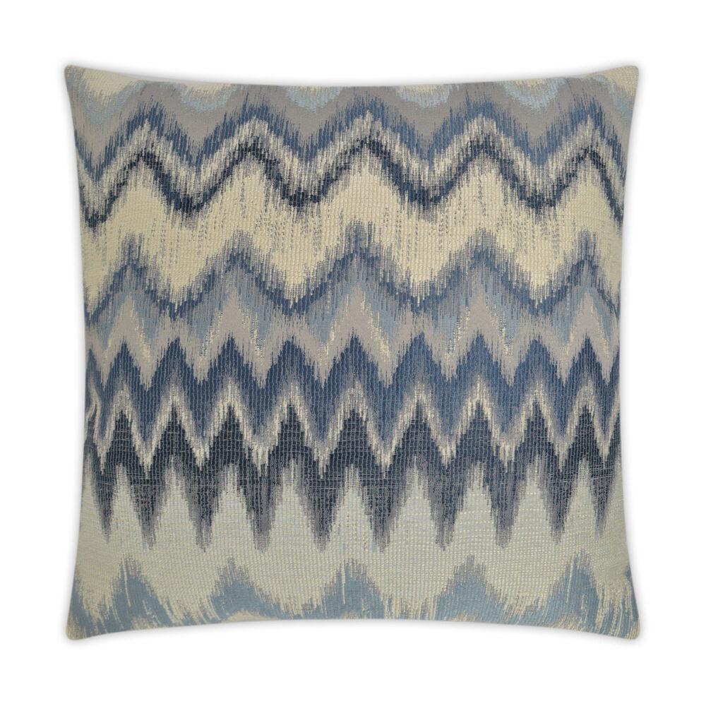 Zippity Pillow in Navy Blue