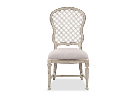 """43"""" Traditional Side Chair in Mercantile White"""