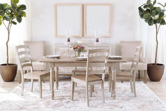 Modern 40'' Host Chair in Beige