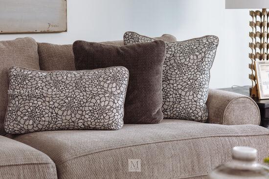 "Low-Profile 96"" Sofa in Gray"