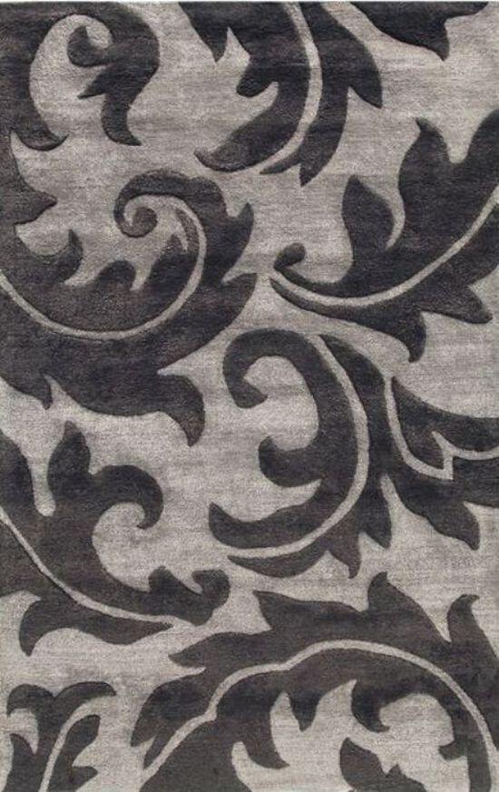 "Lb Rugs Taq-111 (ja) Hand Tufted Wool/viscose 3'-6"" X 5'-6"" Rugs"