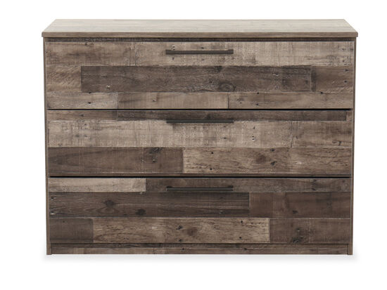 Contemporary Youth Three-Drawer Chest in Gray