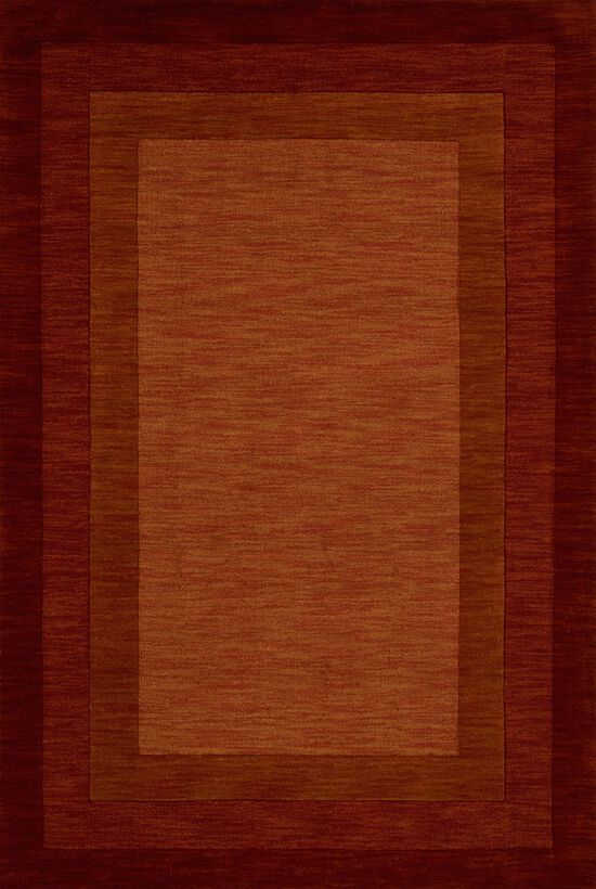 """Transitional 5'-0""""x7'-6"""" Rug in Rust"""