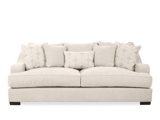 """Casual 98"""" Sofa in Beige"""