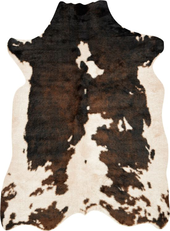 """Contemporary 6'-2""""x8' Rug in Beige/Brown"""