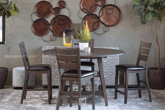 Five-Piece Casual Dining Set in Espresso