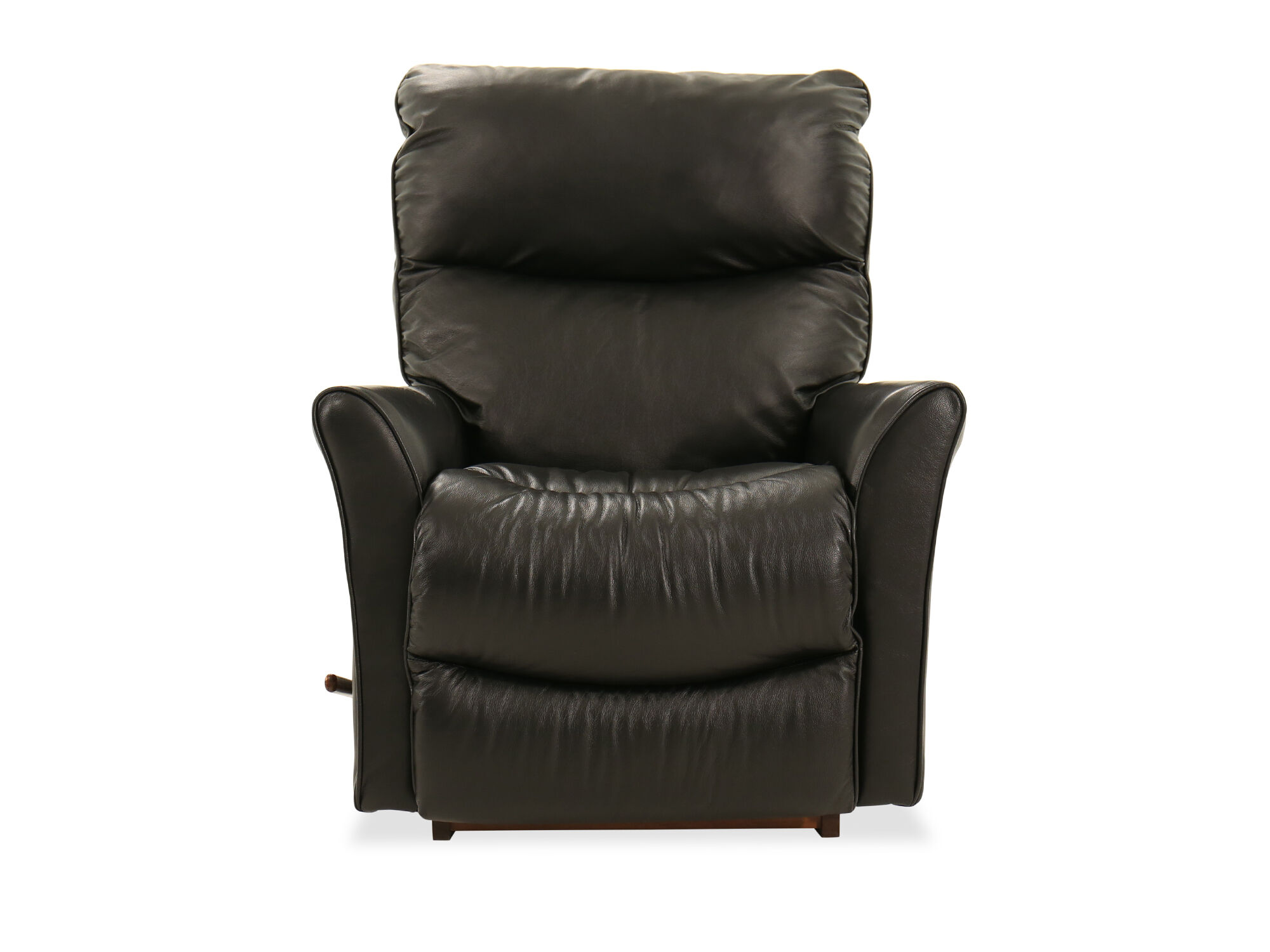 Contemporary 34 Rocker Recliner In Carbon Black Mathis Brothers Lazy Boy Wiring Diagram 34quot