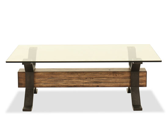 Rectangular Cocktail Table in Nutmeg