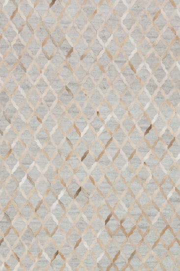 "Contemporary 5'-0""x7'-6"" Rug in Grey/Sand"