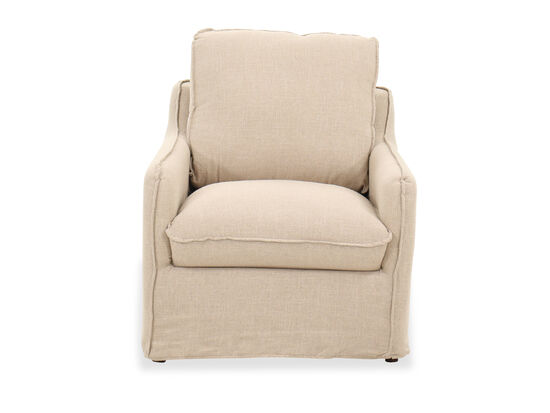 """Casual 34"""" Chair in Beige"""