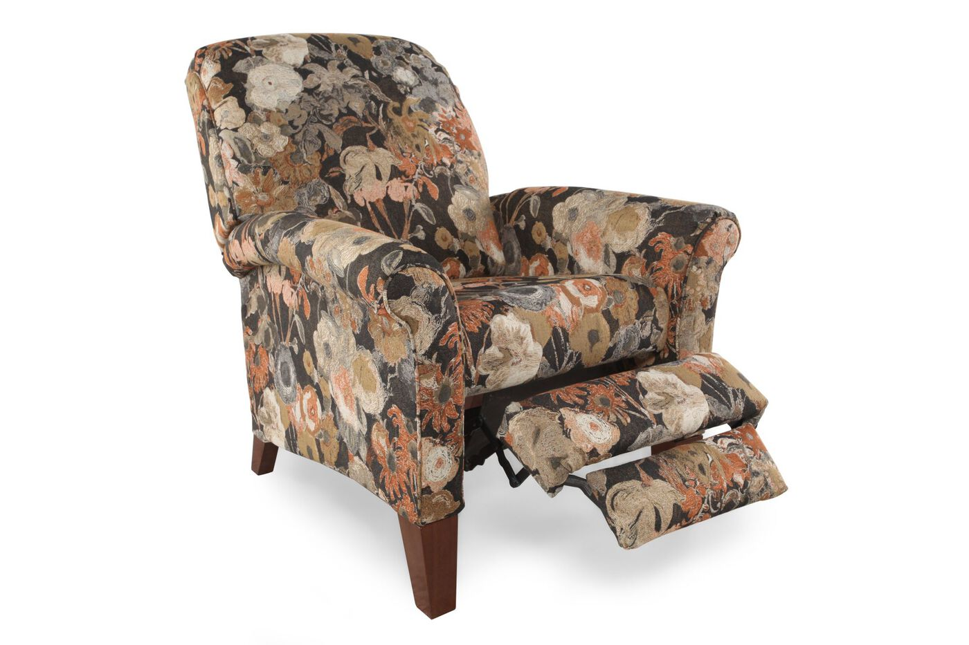 Floral Patterned Contemporary 40 5 Quot Wall Saver Recliner