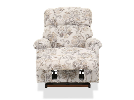 Floral-Patterned Casual 33'' Rocker Recliner