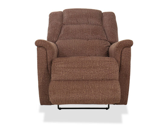 Contemporary Wall Saver Recliner in Mocha