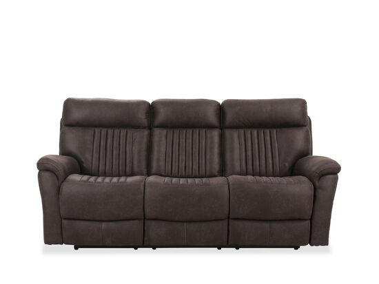 Casual 86.5'' Power Reclining Sofa in Chocolate