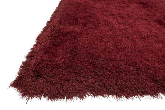 "Shags 5'-0""x7'-6"" Rug in Garnet"