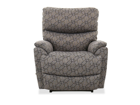 "Casual 36"" Rocker Recliner in Gray"