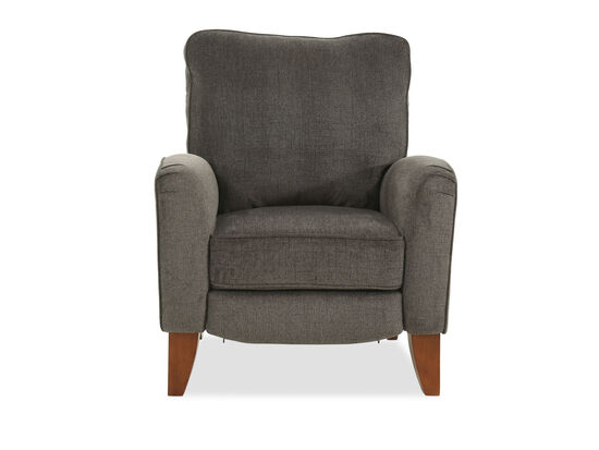 "40"" Casual Wall Saver Recliner in Gray"