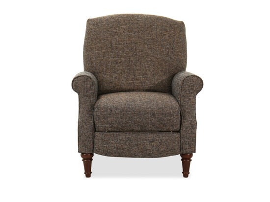 """Rolled Arm Traditional 32"""" High-Leg Recliner"""
