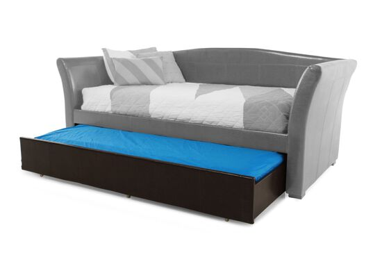 Traditional Youth Daybed Trundle in Chocolate