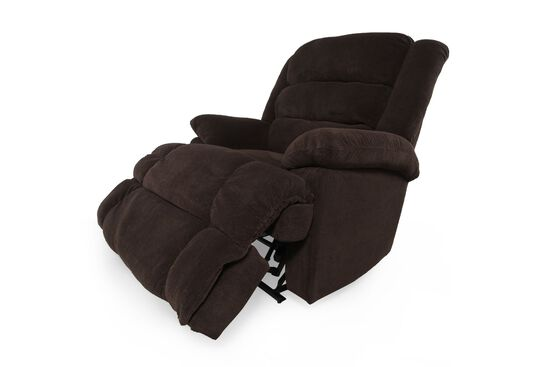 "Wall Saver Casual 44"" Recliner in Chocolate"