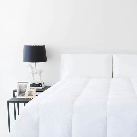 Malouf Oversized Down Blend Queen Comforter