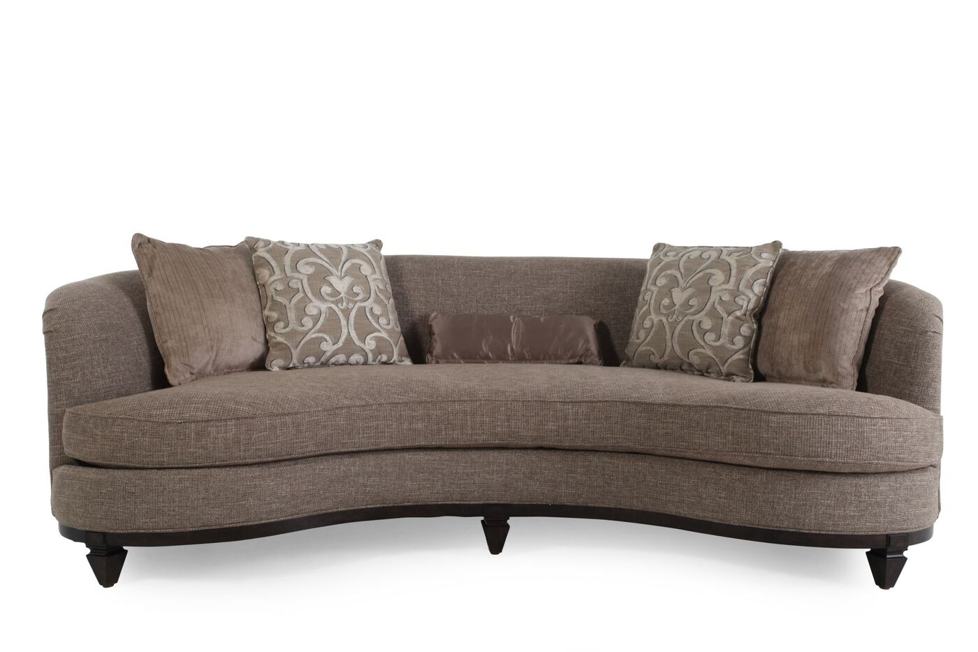 101 Quot Kidney Sofa In Portabella Mathis Brothers Furniture