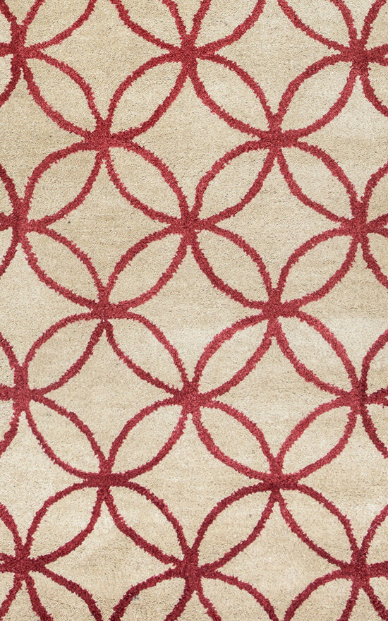 "Transitional Hand-Tufted 2'6""  x  8' Runner Rug in Khaki"
