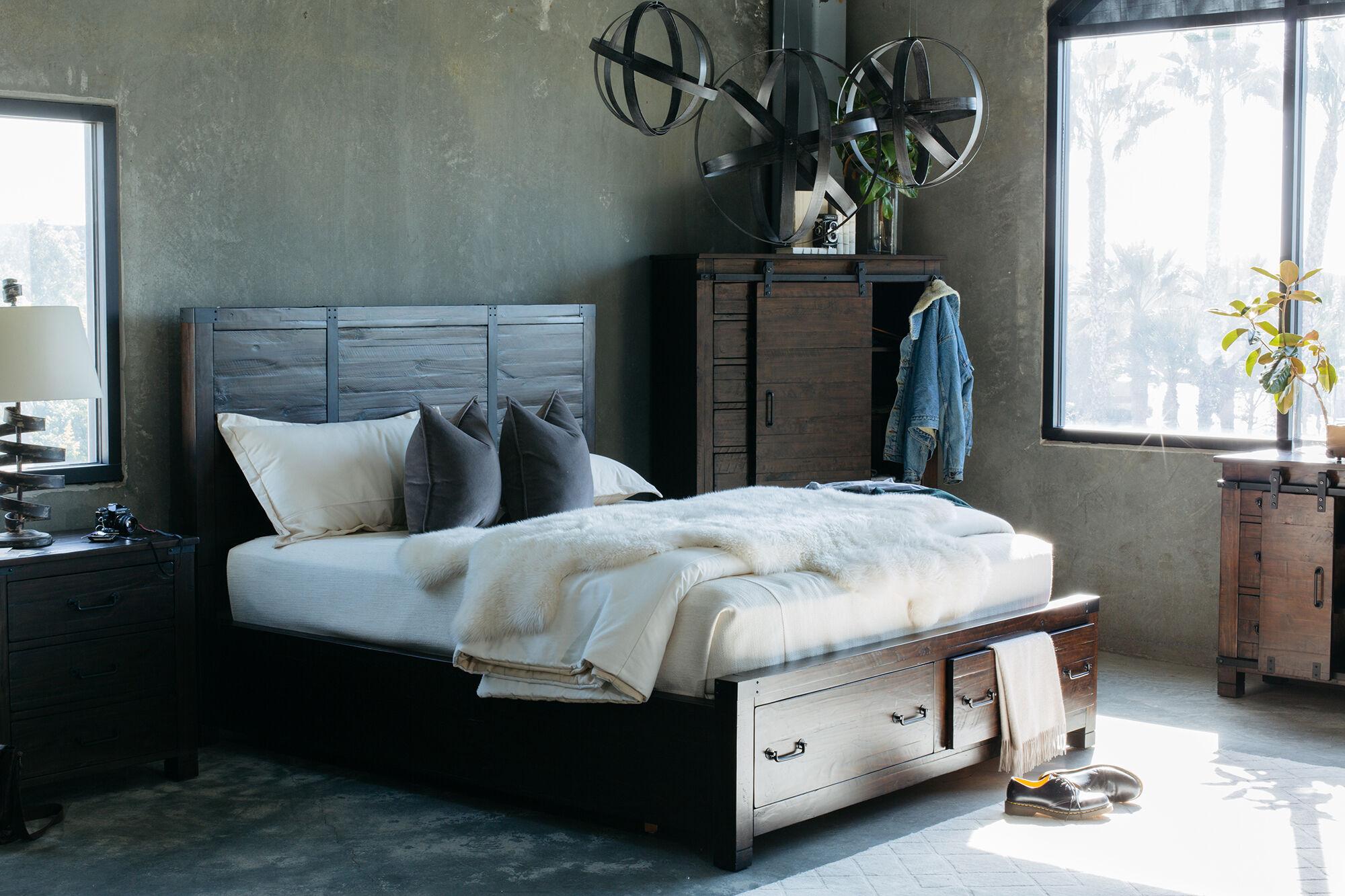 magnussen home pine hill suite - Magnussen Furniture