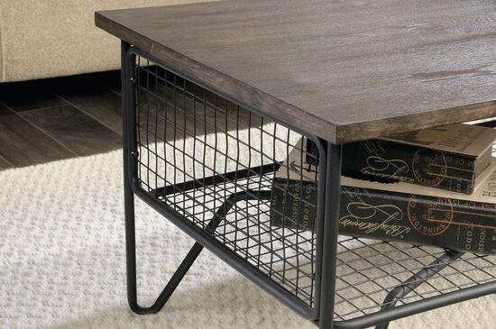 Rectangular Contemporary Coffee Tablein Walnut