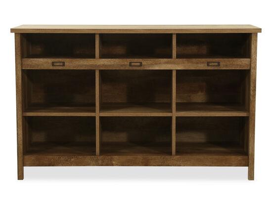 Transitional Storage Credenza in Craftsman Oak