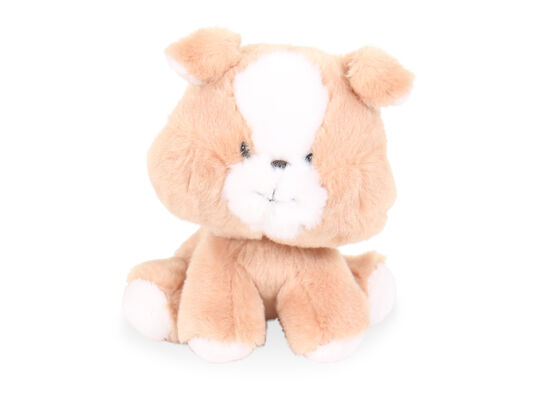 "6.5"" Wobbly Bobblee Plush Dog Toy in Brown"