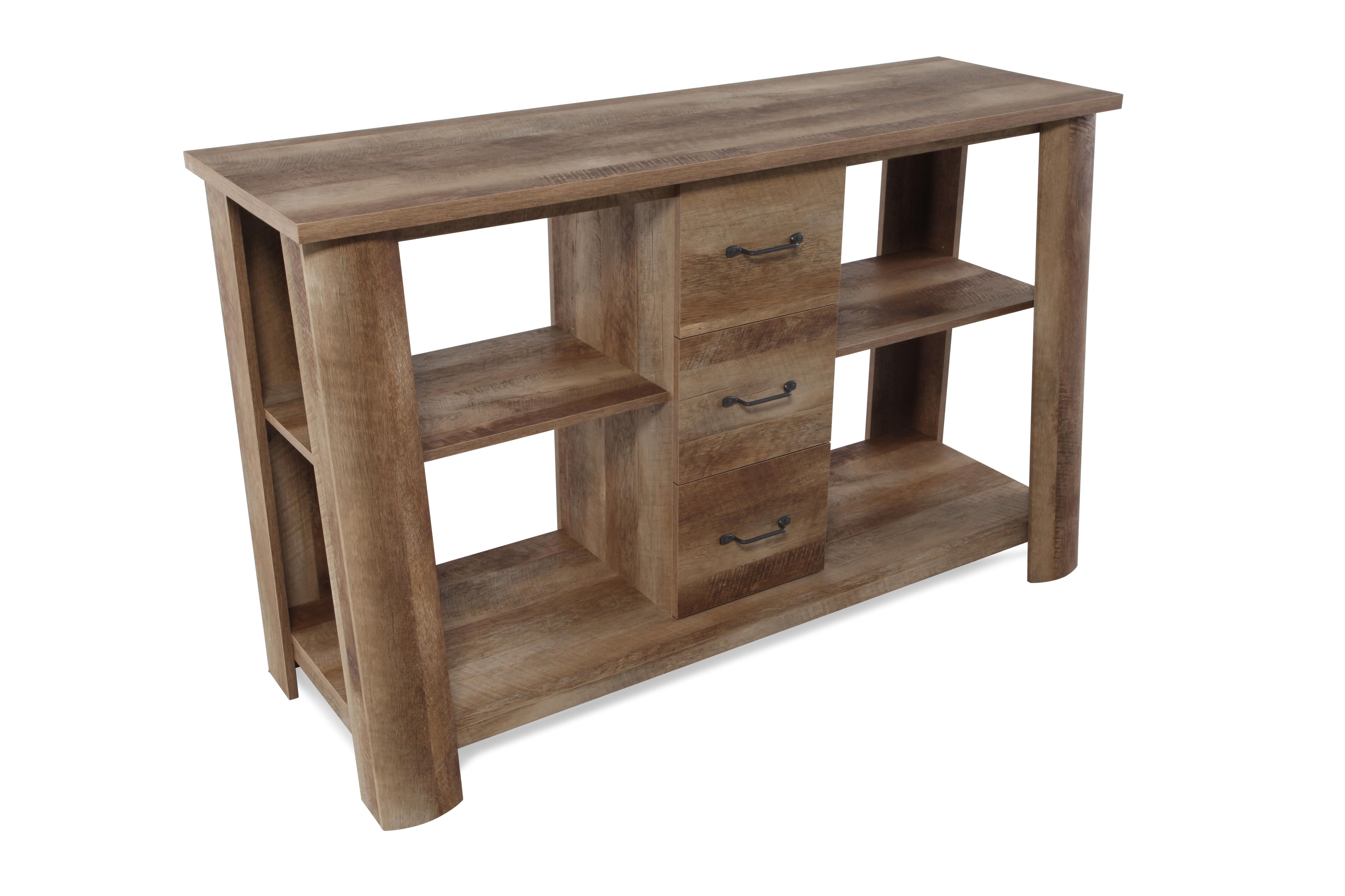Dark Wood Tv Credenza : Rustic wood tv stand lippertcorp