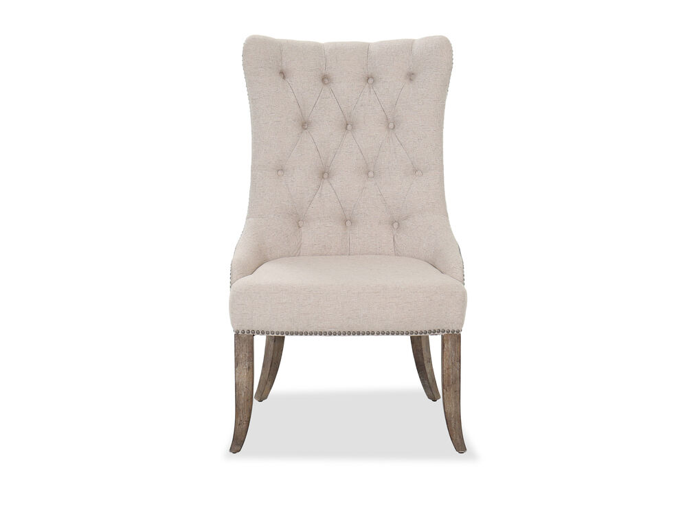 Dining Room Castella Tufted Dining Chair Mathis Brothers Furniture