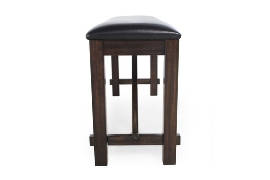 """48"""" Traditional Bench in Dark Brown"""