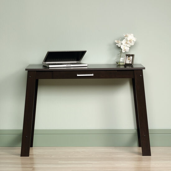 "44"" Casual One-Drawer Writing Table in Cinnamon Cherry"