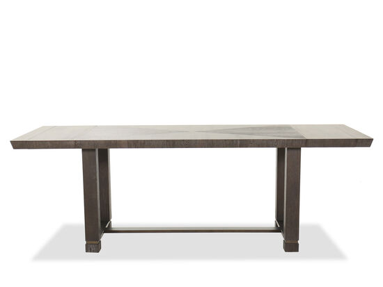 """Transitional 64"""" to 88"""" Friendship Table in Smoky Arabica"""