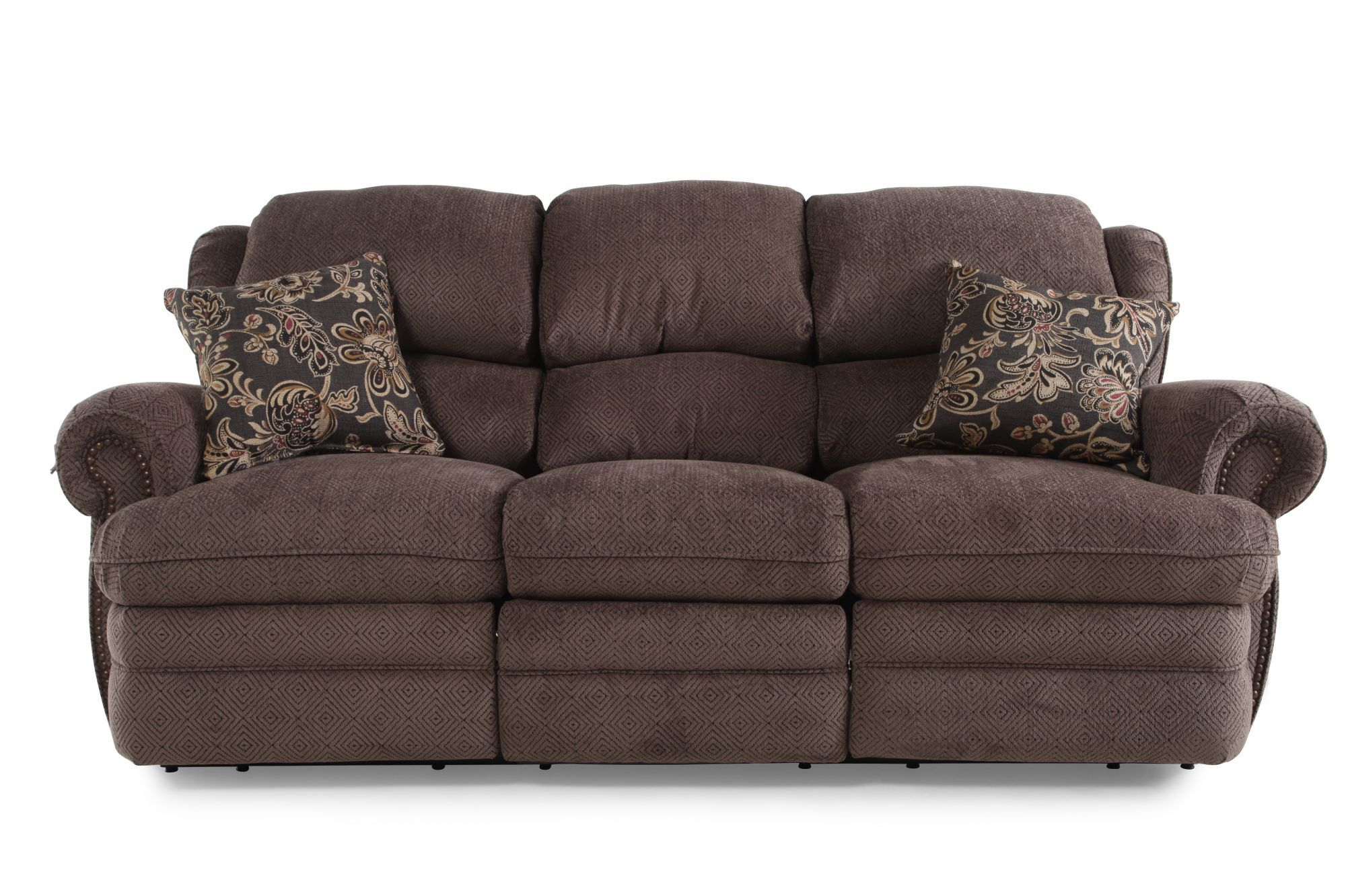 Traditional 86 Reclining Sofa
