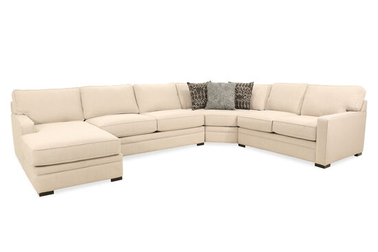 Four-Piece Sectional in Beige