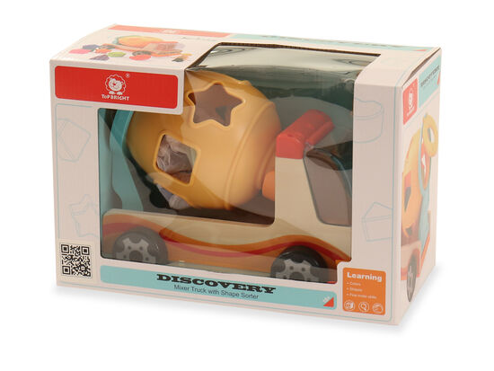 Mixer Truck with Shape Sorter Toy