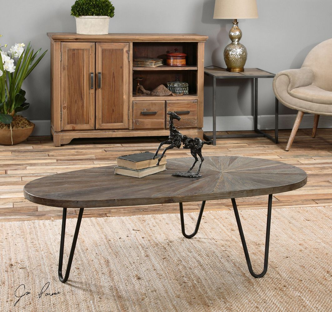 Uttermost leveni wooden coffee table mathis brothers furniture uttermost leveni wooden coffee table geotapseo Images
