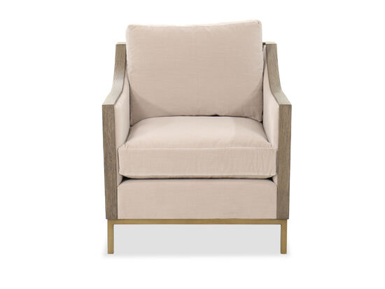 Transitional 31'' Occasional Chair in Beige