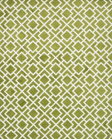 "Transitional 2'-3""x3'-9"" Rug in Peridot"