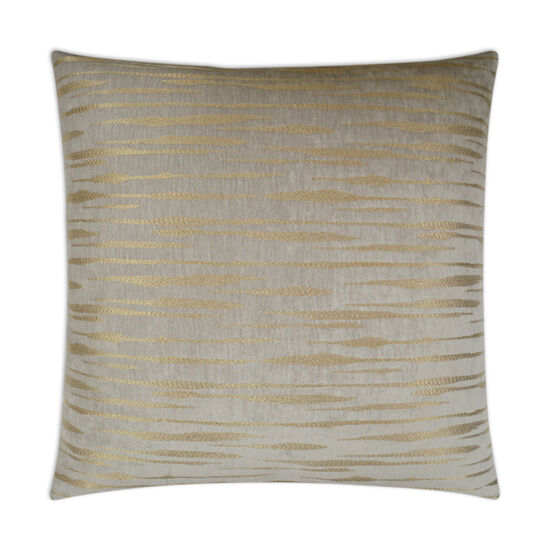 Davos Pillow in Gold