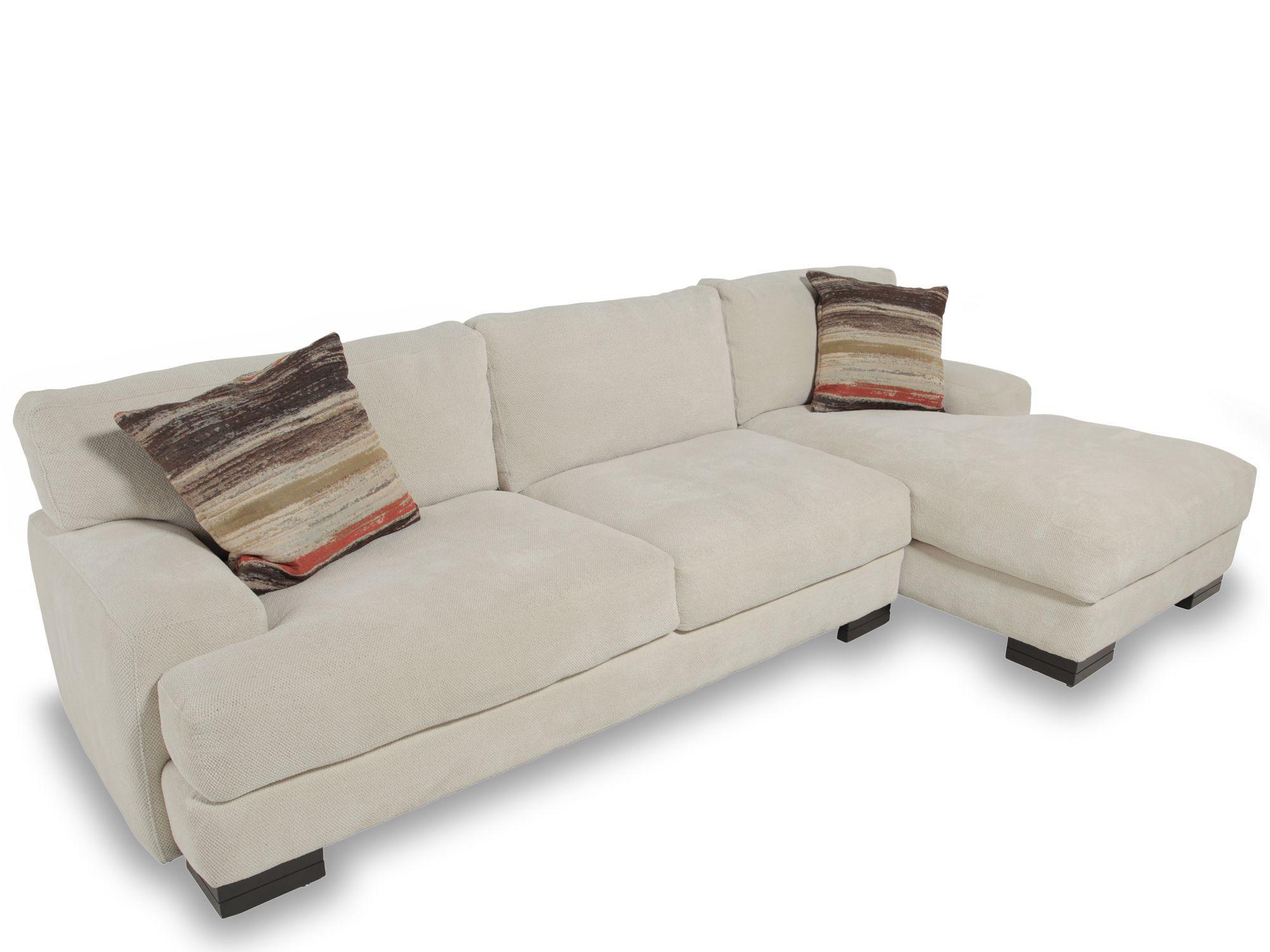 Textured Hybrid Sofa In Cream