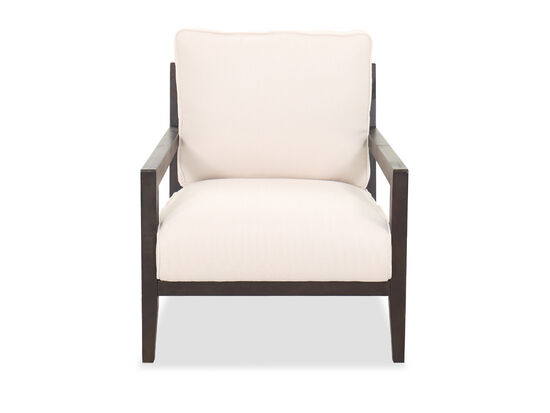 Traditional Ladder-Back Chair in Cream