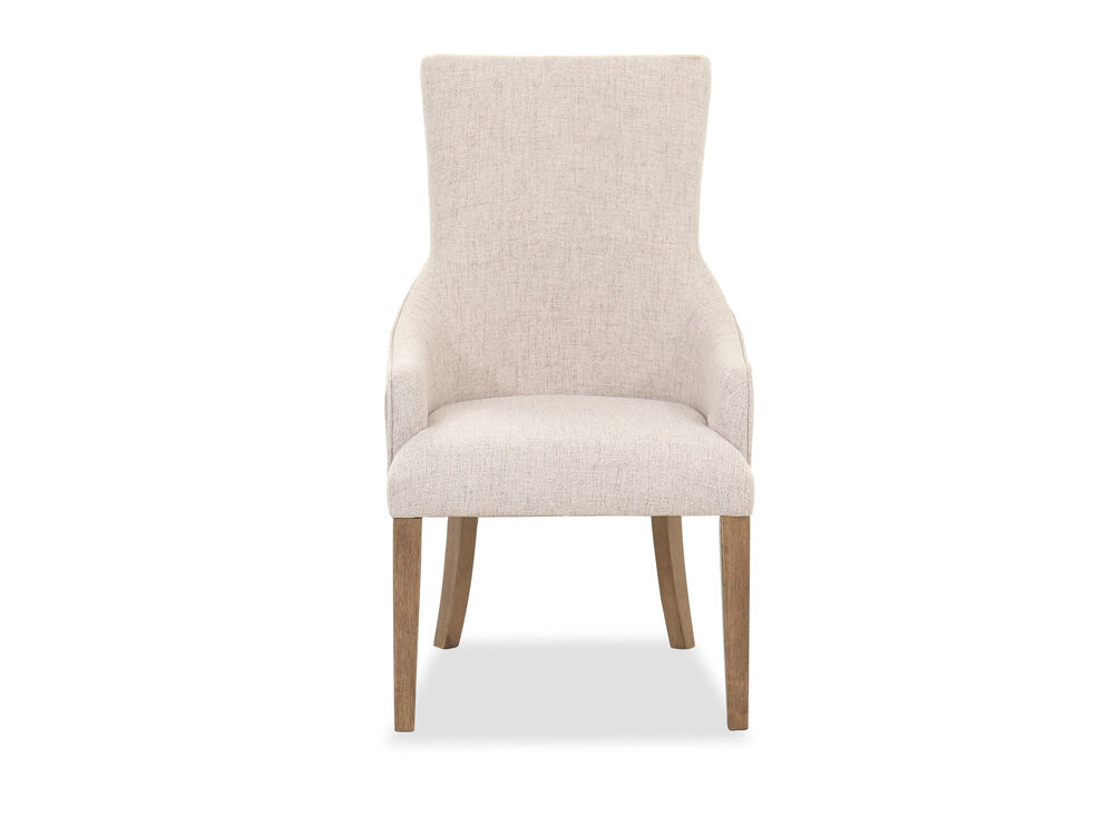 """Casual 43"""" Dining Chair in Beige"""